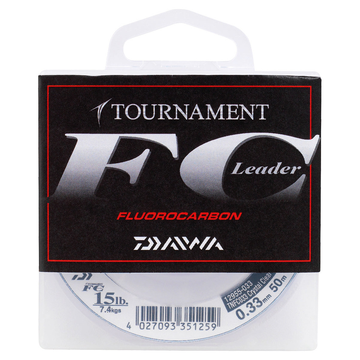 FLUOROCARBON TOURNAMENT FC LEADER DAIWA 50M