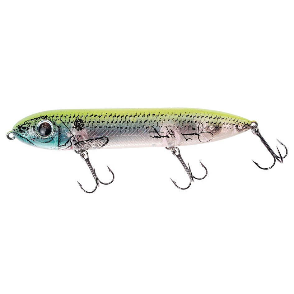 POISSON NAGEUR STICKBAIT HEDDON SUPER SPOOK 125MM