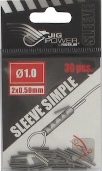 30 SLEEVES SIMPLES BLACK POWERLINE