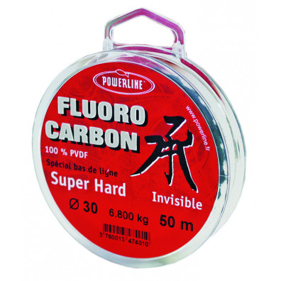 FLUOROCARBON HARD POWERLINE EN 50M