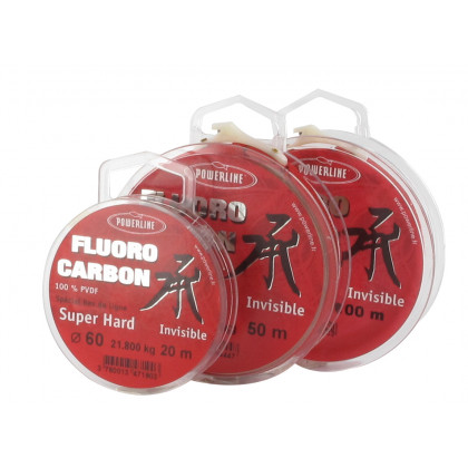 FLUOROCARBON HARD POWERLINE EN 20M